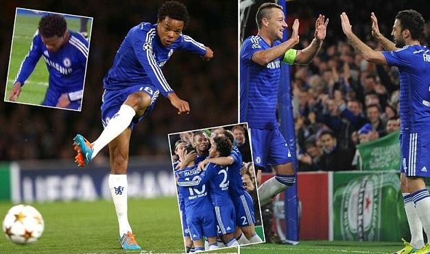 Chelsea có chiến thắng tưng bừng trên sân nhà Stamford Bridge.