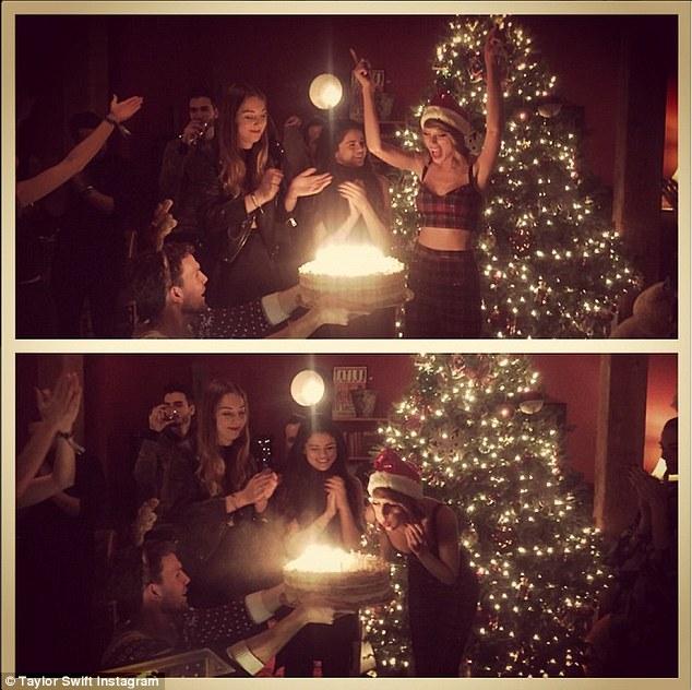 Các ngôi sao trong tiệc sinh nhật của Taylor Swift