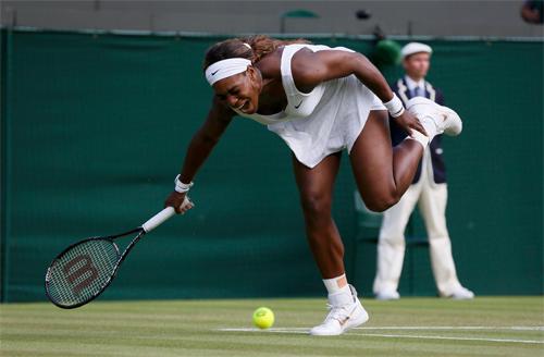 Serena Williams thường xuyên là nạn nhân của những trận thua sốc trong năm 2014.