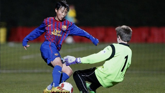 Hàn Quốc đang cực mạnh với hạt nhân là Messi Paik Seung Ho.