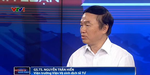 GS.TS. Nguyễn Trần Hiển - Viện trưởng Viện Vệ sinh dịch tễ TƯ.