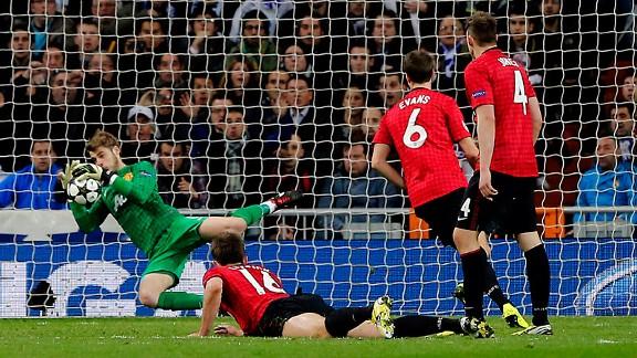 De Gea đang thi đấu rất hay tại Man Utd