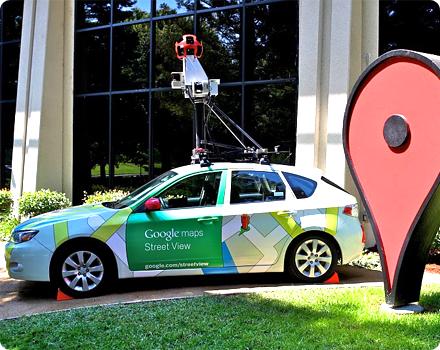 Street View hỗ trợ người dùng tìm đường khi lái xe trên phố