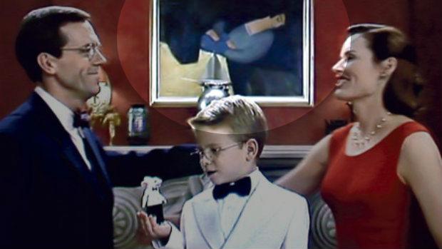 Kiệt tácnằm ở phía hậu cảnh trong một bộ phimStuart Little. (Ảnh: CBC)