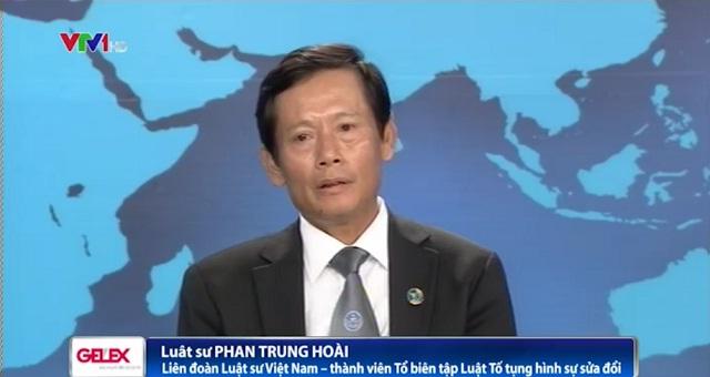 Ông Phan Trung Hoài - Liên đoàn Luật sư Việt Nam