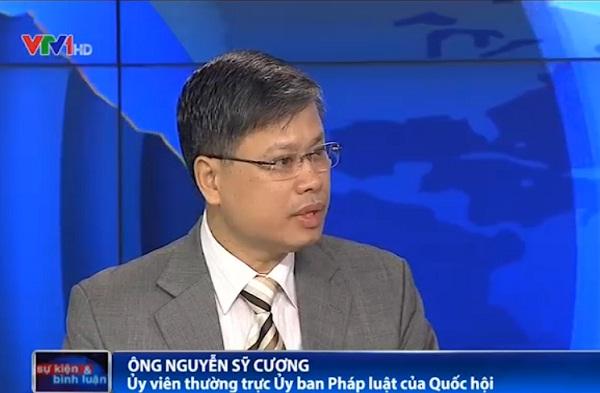 Ông Nguyễn Sỹ Cương - Ủy biên thường trực Ủy ban Pháp luật của Quốc hội
