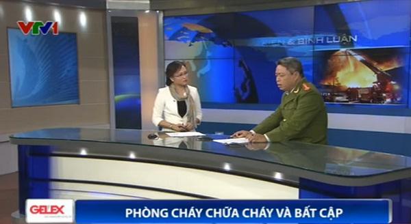 Chương trình Sự kiện & Bình luận cuối năm 2014 với sự tham gia của khách mời - Đại tá Nguyễn Văn Tươi - Phó Cục trưởng Cục Cảnh sát PCCC và cứu nạn cứu hộ.