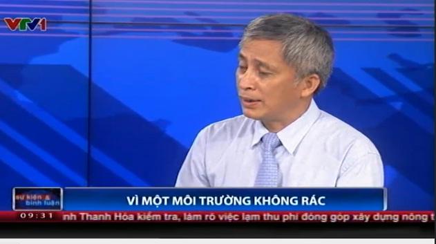 TS. Hoàng Dương Tùng - Phó tổng cục trưởng, Tổng cục Môi trường, Bộ Tài nguyên và Môi trường