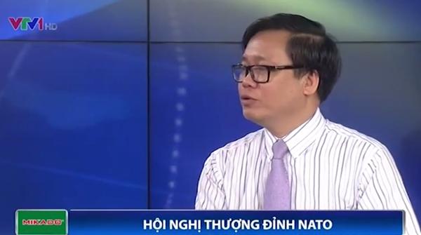 TS Hoàng Anh Tuấn - Viện trưởng Viện Nghiên cứu chiến lược, Bộ Ngoại giao (Ảnh: VTV News)