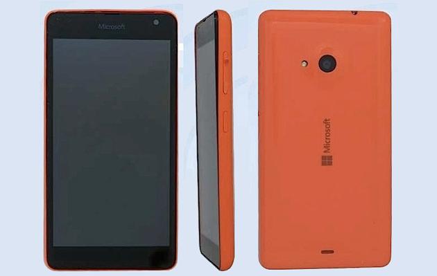 Những hình ảnh về chiếc smartphone đầu tiên của Microsoft?
