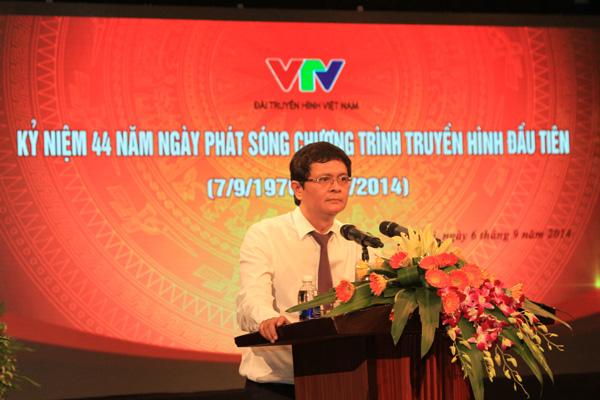 Tổng Giám đốc Đài THVN phát biểu tại buổi gặp mặt