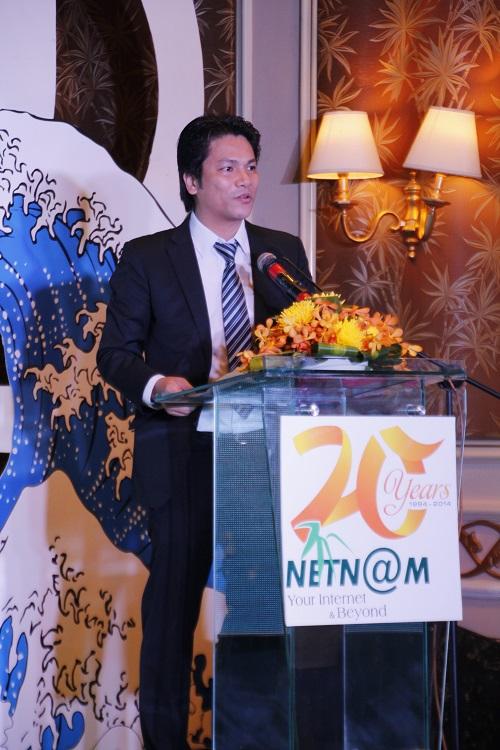 Tổng giảm đốc NetNam - ông Vũ Thế Bình