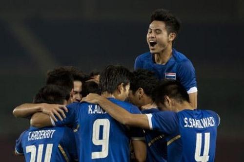 Đội tuyển Thái Lan tăng liên mạch 21 bậc