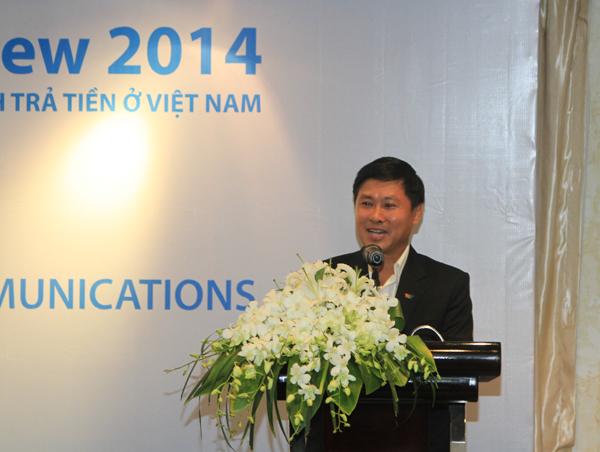 Phó TGĐ VTV Nguyễn Thành Lương phát biểu