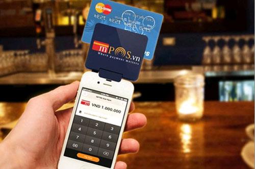 mPoS được kỳ vọng sẽ kích thích thanh toán không dùng tiền mặt tại Việt Nam. (Ảnh: mPoS.vn)