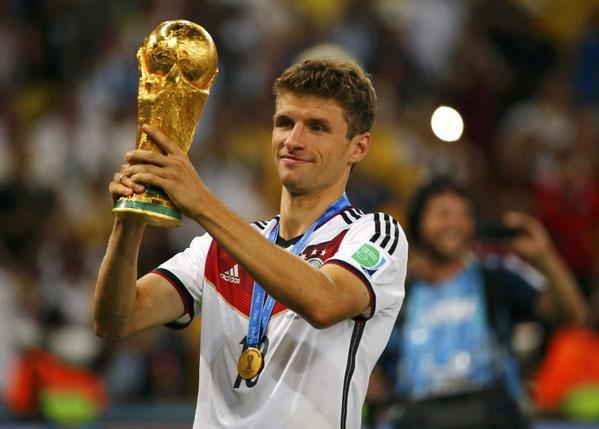 Chức vô địch World Cup 2014 không giúp được nhiều cho Thomas Muller