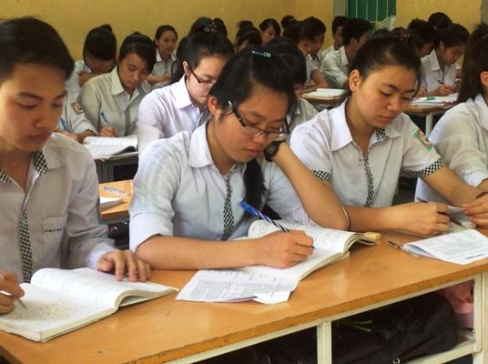 Nhiều trường THPT đã bắt đầu chuẩn bị cho Kỳ thi Quốc gia
