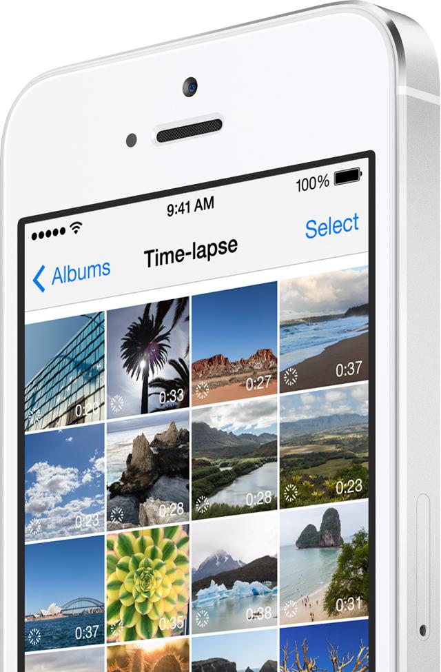 Hệ điều hành mới cho phép camera có thể quay video Time-Lapse