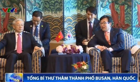 Tổng Bí thư Nguyễn Phú Trọng thăm Thành phố Busan
