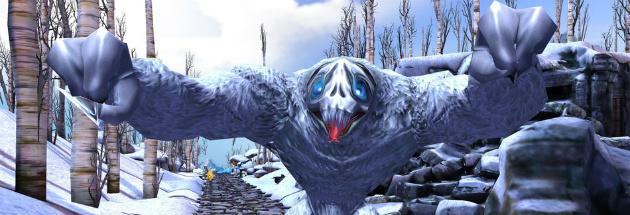 Con quái vật luôn đuổi theo người chơi trong Temple Run VR