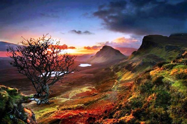 Đỉnh núi Trotternish, đảo Skye, Scotland