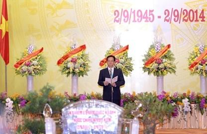 Thủ tướng chiêu đãi trọng thể Đoàn Ngoại giao