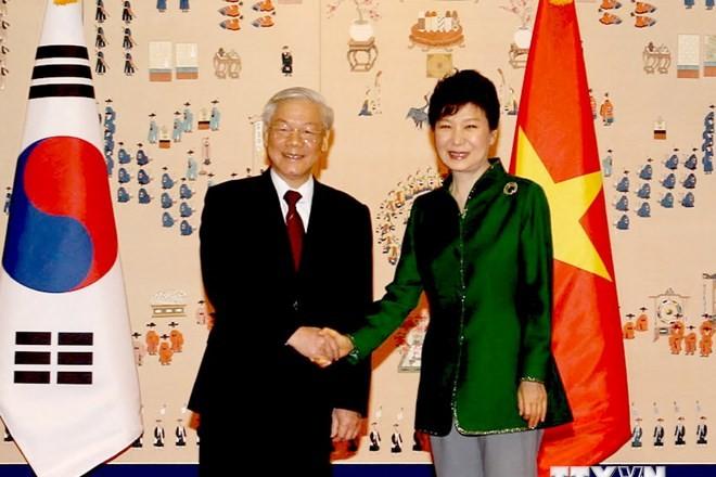 Tuyên bố chung hai nước Việt Nam và Hàn Quốc