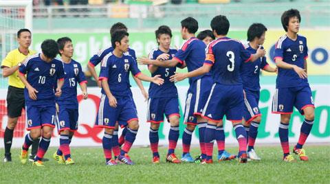 U19 Nhật Bản cũng rất quyết tâm