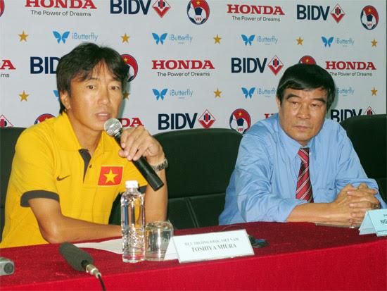HLV Toshiya Miura tự tin về sự chuẩn bị của ĐT Việt Nam cho AFF Suzuki Cup 2014.
