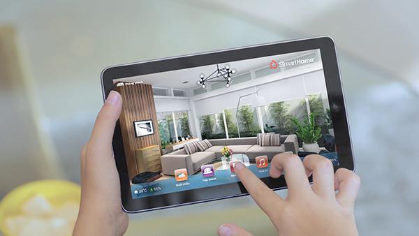 Người dùng có thể điều khiển nhà thông minh bằng máy tính bảnh