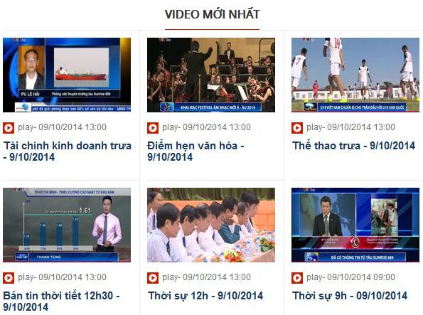 Hệ thống Video theo yêu cầu trên báo điện tử VTV News