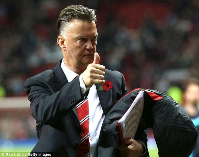 HLV Van Gaal hài lòng về trận hòa với Chelsea.