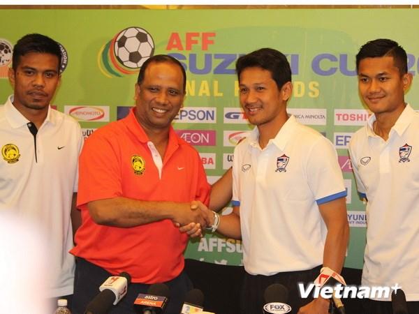 HLV Kiatisuk quyết tâm giành thắng lợi trước Malaysia. (Ảnh: Lê Hải-Việt Hải/Vietnam+)