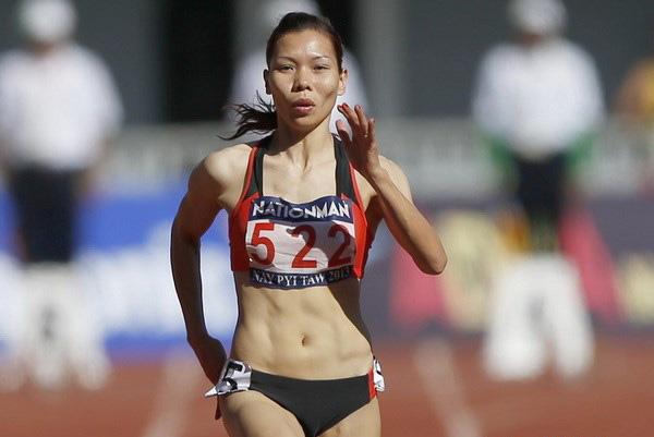 Vũ Thị Hương tiếp tục thi đấu ở nội dung 200m