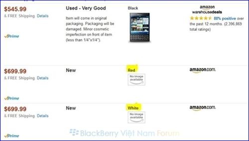 Người dùng có thể đặt mua trước sản phẩm trên trang Amazon