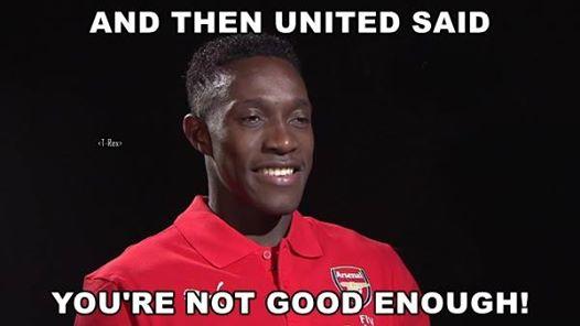 Vậy mà Man Utd nói rằng tôi không đủ tốt để chơi bóng cho họ.