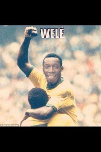 Welé - hậu nhân của vua bóng đá Pele