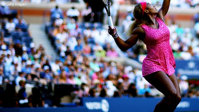 Serena Williams sinh ra là để chơi tennis?