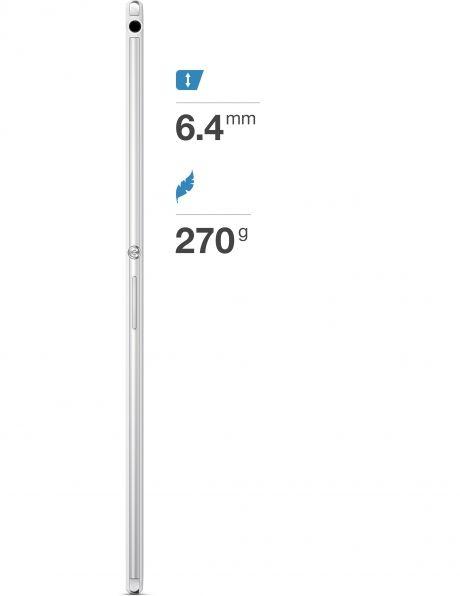 Xperia Z3 Tablet Compact được đánh giá là chiếc máy tính bảng mỏng nhất hiện nay