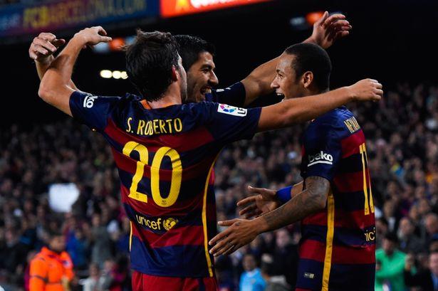 Cặp Suarez và Neymar đã ghi tổng cộng 20 bàn thắng trong thời gian Messi vắng mặt