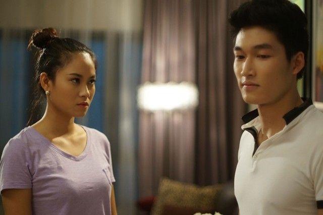 Vai diễn của Vân Anh, Đình Tú trong phim đã chinh phục nhiều khán giả.