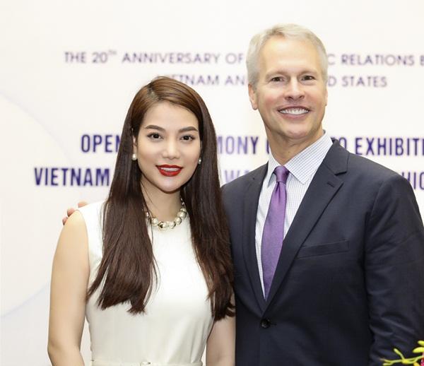 Trương Ngọc Ánh và ông Gary Pruitt, Chủ tịch kiêm Tổng giám đốc Hãng thông tấn AP