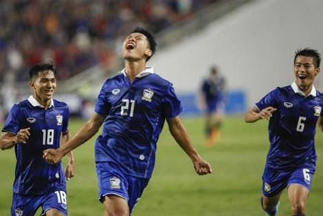 Pokklaw A- Nan (21) ăn mừng bàn thắng duy nhất trận