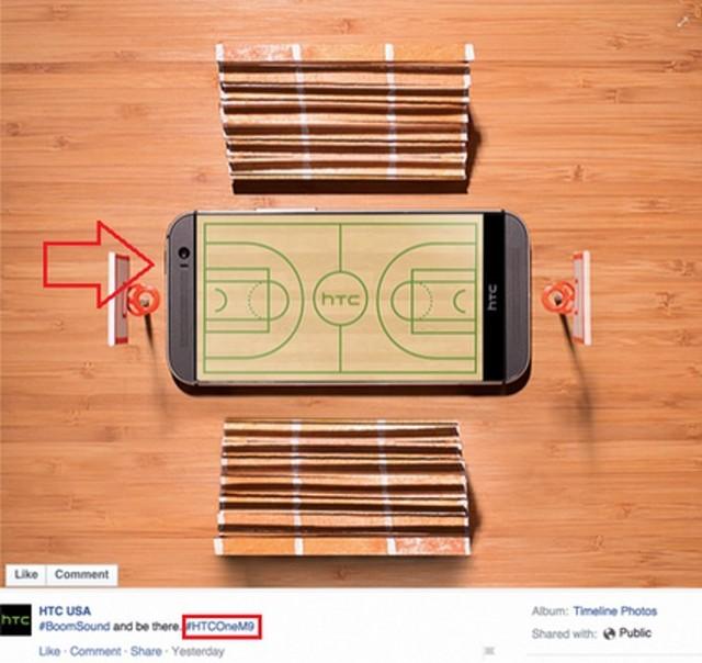 Hình ảnh đăng tải trên Facebook của HTC Mỹ