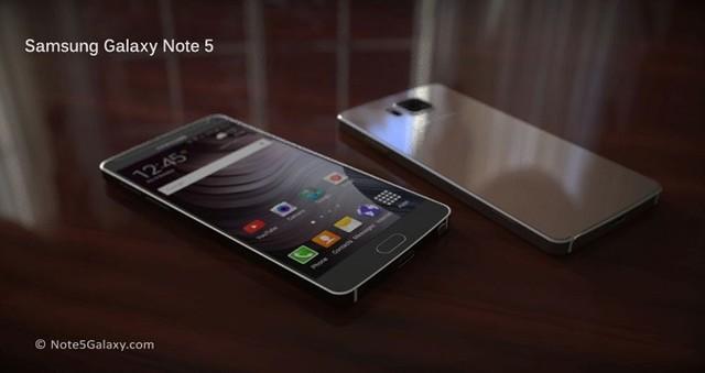 Galaxy Note 5 có thể sẽ mang thiết kế kim loại nguyên khối