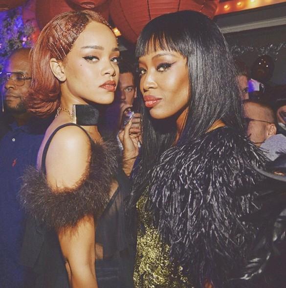 Rihanna và Naomi Campbell