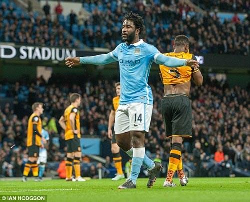 Bony thi đấu ấn tượng trong chiến thắng của Man City