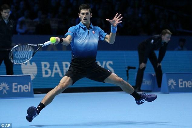 Novak Djokovic thể hiện phong độ ấn tượng trong trận chung kết
