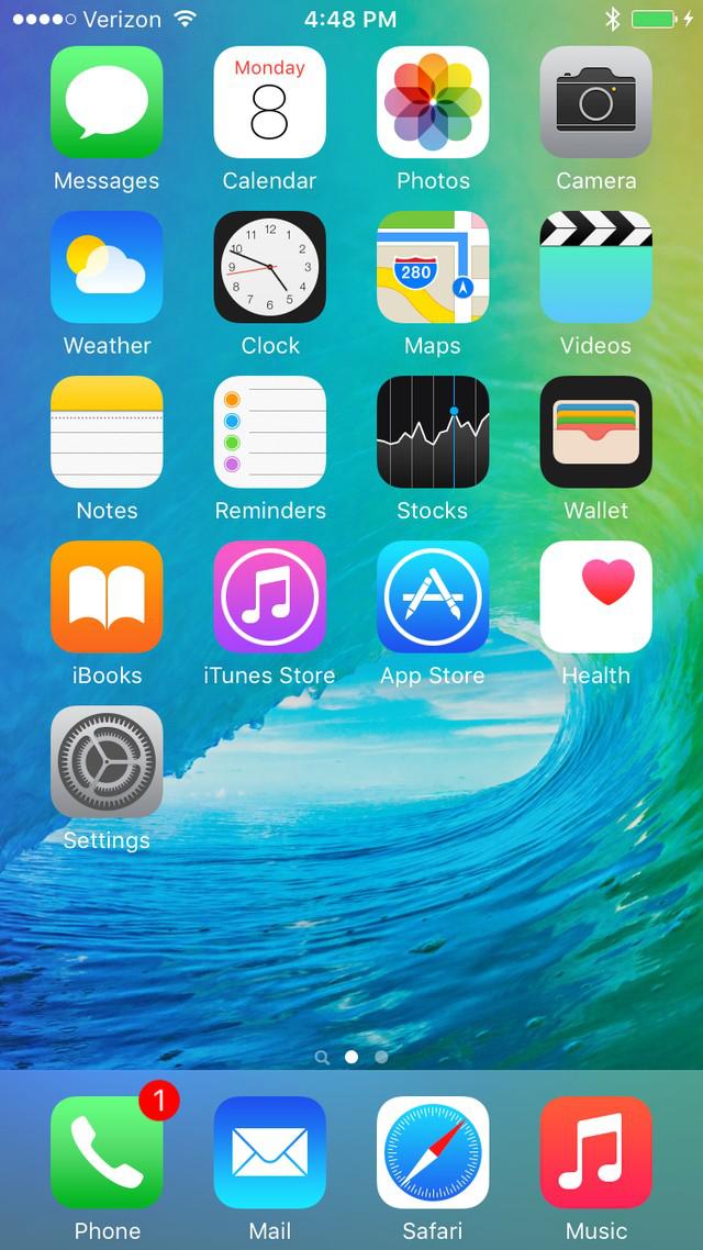Phông chữ hệ thống trên iOS 9
