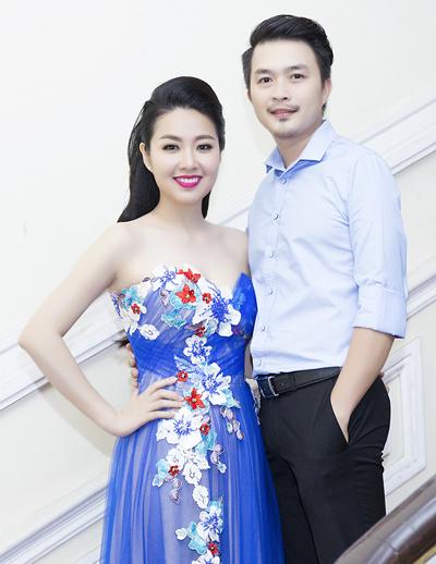 Lê Khánh và chồng - diễn viên Tuấn Khải - kết hôn cuối năm 2014